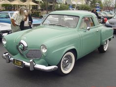 1951 Studebaker Starlight Coupe ... We had one and trying to take a vacation with 4 people my bro and I had a lot of DONT touch me in that lil car !