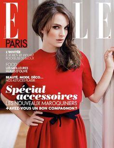 Natalie Portman covers Elle France, September 14, 2012.