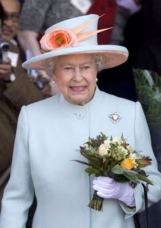 Queen Elizabeth II opens the National Welsh Assembly at the Senedd Building in Cardiff Bay in Wales on June 5, 2007.