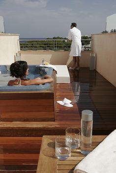 Prestige Junior Suite terrace.