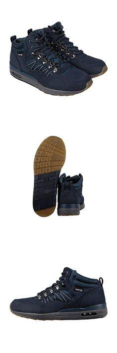 the latest 10ff6 edc65 HUF Men s HR-1 Boot Inspired Runner, Dark Navy Charcoal Grey, 7 M US