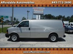 Used 2009 Chevrolet Express 1500 Cargo for Sale in Myrtle Beach SC 29577…