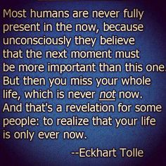 WOW!!! This really resonates with me... Good reminder to appreciate my life and the present moment