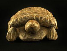 Akan Turtle West-Africa #391 | Figures | Artifacts — Deco Art Africa - Decorative African Art - Ethnic Tribal Art - Art Deco