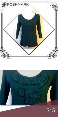 Long Sleeve Blouse EUC // small LOFT Tops Tees - Long Sleeve