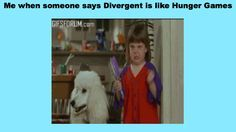 Hunger Games is more violent and Divergent is better! <3!!