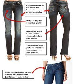 Calça Jeans Ideal Para o seu Tipo de Corpo