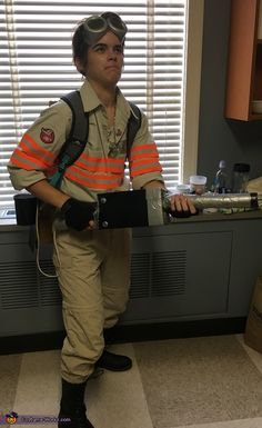 Ghostbusters Jillian Holtzmann - 2016 Halloween Costume Contest