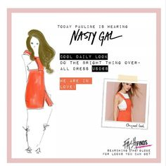 """""""Fashfinds: searching the globe for looks you can get!  Today @nastygal    Want it?:http://www.nastygal.com/clothes-dresses/do-the-bright-thing-overall-dress…"""""""