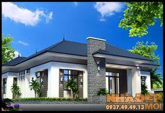 mẫu biệt thự vườn 1 tầng có 4 phòng ngủ Model House Plan, House Plans, Civil Construction, Floor Plan Layout, Traditional House, Houzz, Home Fashion, Bungalow, My Dream