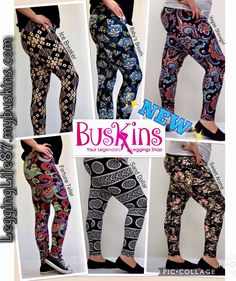 ✨NEW✨ All on site now!! Kids $15, Women's One Size $17 & Plus $18 and always FREE shipping!😊👍🏻  LeggingLife87.mybuskins.com