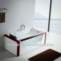 Clear Glass Bathtub (rmb8176) - Buy Gass Bathtub,Glass Whirlpool Bathtub,Freestanding Bathtub Product on Alibaba.com
