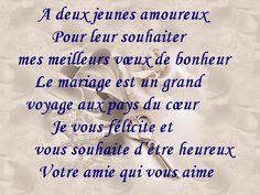 cartes textes recherche google - Texte De Felicitation De Mariage