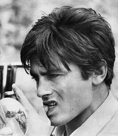 Alain Delon ~ Check out for more pins: https://www.pinterest.com/neno3777/alain-delon/