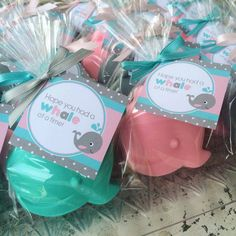 60 WHALE SOAPS {Favors} - Nautical themed Birthday, Whale Boat Soaps, Baby…