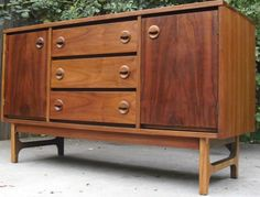 Danish Modern Buffet Credenza : Best mid century credenzas images danish modern furniture
