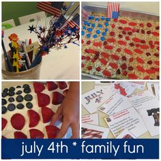 july 4th activities & crafts for kids & families * patriotic crafts for kids * #weteach