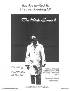 The Style Council Good Music, My Music, Skinhead Reggae, The Style Council, Paul Weller, Look 2018, Power Pop, Music Pics, Just Style