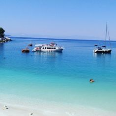 Thassos island, saliara beach, Greece