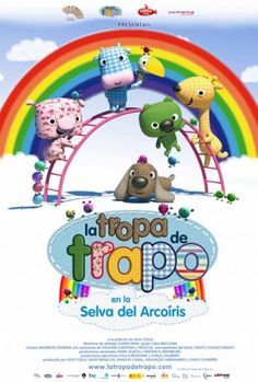 La tropa de trapo en la selva del arcoiris - Estreno 30 de Abril en #cines