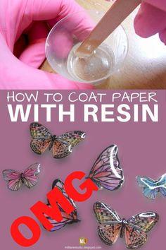 Epoxy Resin Art, Diy Resin Art, Diy Resin Crafts, Resin Molds, Crafts To Make, Jewelry Crafts, Resin Pour, Diy Resin Coating, Resin Spray
