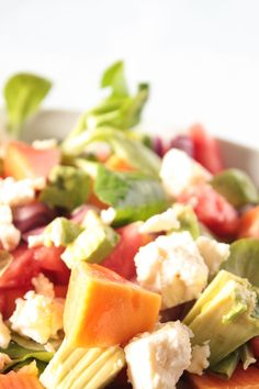 Papaya Salat, Bunt, Pasta Salad, Ethnic Recipes, Food, Healthy Recipes, Food And Drinks, Food Food, Health