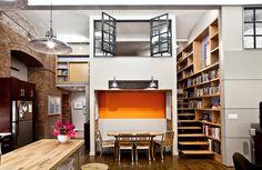 decoracion loft doble altura