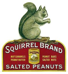 What Floats My Boat (Squirrel Brand Salted Peanuts 1910 Flickr: Joan...)