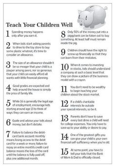 Indispensable Kid Rules Every Parent Should Follow Teach your children well