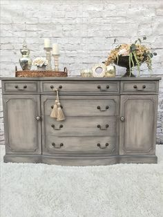 Amazing Hand Painted Side Board By Kellies Creations Jackson NJ. Painted In Layers  Of Caromel Colours