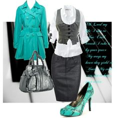Don't like the shoes! But cute church outfit.