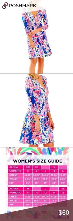 NWT Lilly Pulitzer Banyan Dress Size S The most precious dress!!! Palm Beach style for sure!! never worn! Looser fit. Lilly Pulitzer Dresses