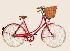 Bicicleta Vintage com Cesto Frontal