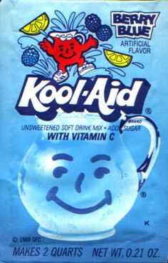 Berry Blue Kool-Aid