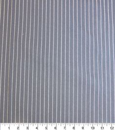 Stretch Denim Fabric-Pinstripe
