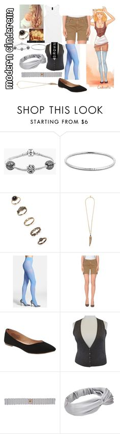 """""""Modern Cinderella"""" by blackest-raven ❤ liked on Polyvore featuring Urban Outfitters, Pandora, Blue Nile, Forever 21, Roberto Cavalli, DKNY, Mother, Old Navy, Marina Rinaldi and Cocobelle"""