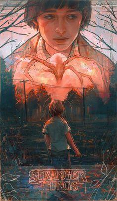 Stranger Things Season 2 Poster - Diana Novich