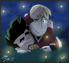 Jake Long and Ron Stoppable: Vol 2 Jake Long, American Dragon, Kim Possible, Rainbow Pride, Anime Shows, Movies And Tv Shows, Cute Couples, Movie Tv, Disney