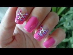 Corset Nails Nail Art Tutorial