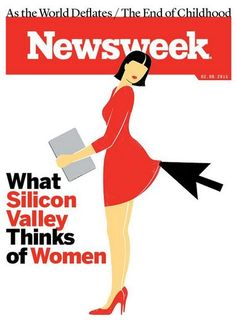 Artist behind Newsweek cover: it's not sexist, it depicts the ugliness of sexism. Bringing awareness on issues of sexism. Baie De San Francisco, Le Male, Illustrators, Social Media, Facebook, Digital, Reading, Words, Magazine Covers