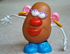 Mr. Potato Head used to supplement a five senses theme or unit.   Lots of fun for toddlers or preschoolers as they learn about their senses!