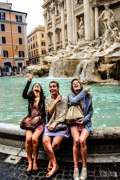 Rome, Trevi Fountain #Italy