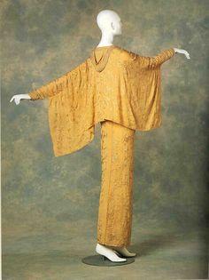 Deshabille Jeanne Paquin 1912 Jeanne Lanvin, Historical Costume, Historical Clothing, Edwardian Fashion, Vintage Fashion, 1900s Fashion, Edwardian Era, Vintage Dresses, Vintage Outfits