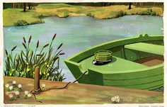 Cartel de Hóptimo. Al pasar la barca - AD España