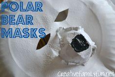 Creative Family Fun: Polar Bear Masks