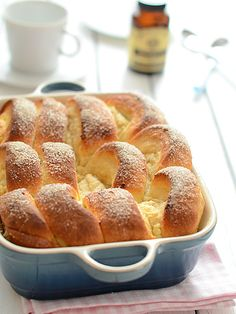 Yeast Buns with Cheese Polish Recipes, Polish Food, French Toast, Food And Drink, Sweets, Baking, Breakfast, Breads, Anna