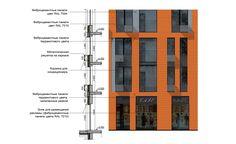 Жилой район «Северный». Фрагмент фасада © ДНК аг