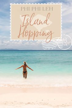 Going island hopping around Phi Phi Leh in Thailand? Use my experience of island hopping as a guide! Thailand Vacation, Thailand Travel Tips, Krabi Thailand, Asia Travel, Solo Travel, Asian Photography, Hidden Places, Travel Inspiration, Travel Ideas