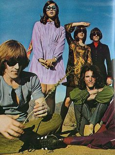 Colleen Corby with JEFFERSON AIRPLANE 1967