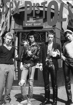 The Sex Pistols were an English punk rock band that formed in London in 1975. They were responsible for initiating the punk movement in the United Kingdom and inspiring many later punk and alternative rock musicians.